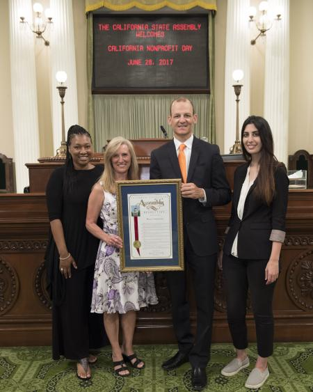 Assemblymember McCarty Honors Women's Empowerment as Assembly District 7's Nonprofit of the Year