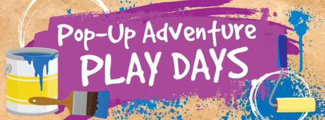 Pop-Up Adventure Play Day at South Natomas Library Graphic