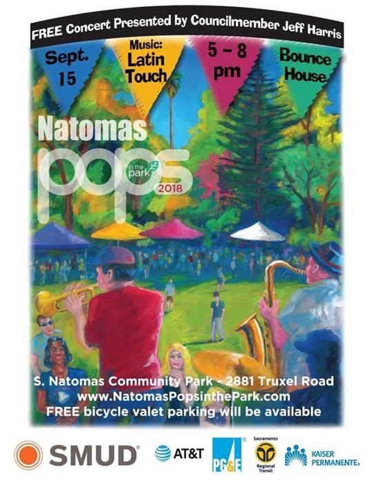 Natomas Pops in the Park Graphic
