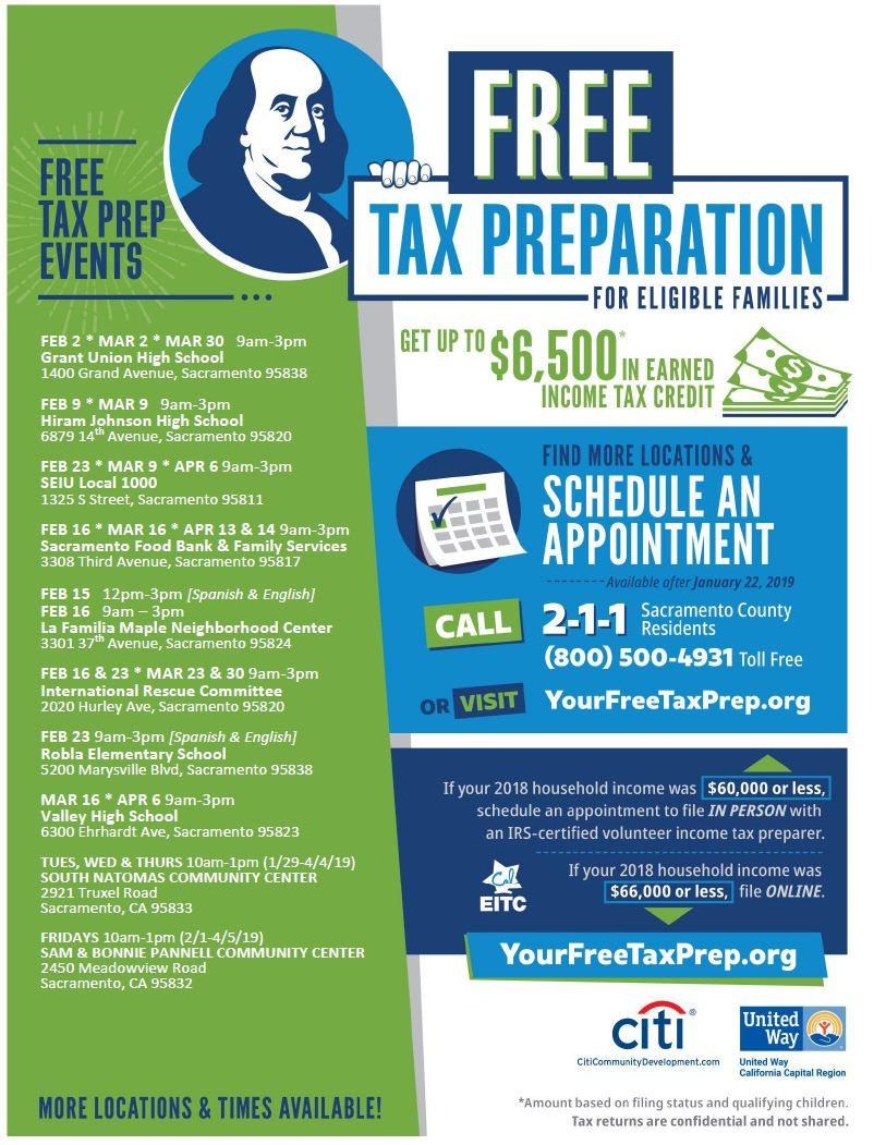 Get your taxes done for FREE | Official Website