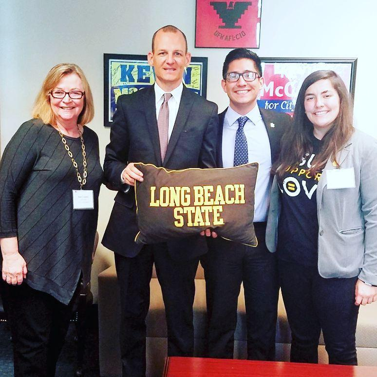 Visit From California State University Long Beach President Official Website Assemblymember Kevin Mccarty Representing The 7th California Assembly District