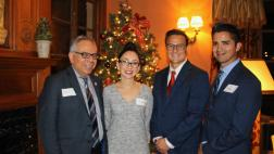 Photos from the 4th Annual Holiday Reception and Toy Drive