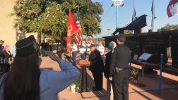 9/11 remembrance ceremony at Cal Expo Memorial Plaza