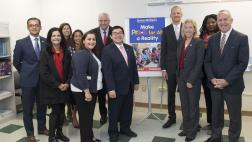 Assemblymember Kevin McCarty at Universal Pre-K Press Conference