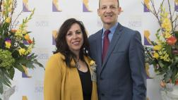 Assemblymember McCarty and AD 07 Woman of the Year, Peggy Delgado Fava