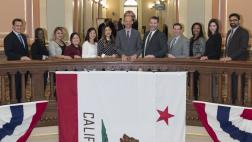 Assemblymember McCarty with Capitol and District Office Staff