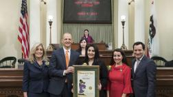 Assemblymember McCarty Honors Woman of the Year Basira Alam