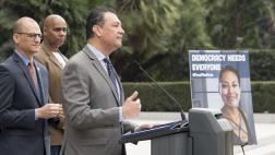 SOS Alex Padilla Free the Vote Press Conference